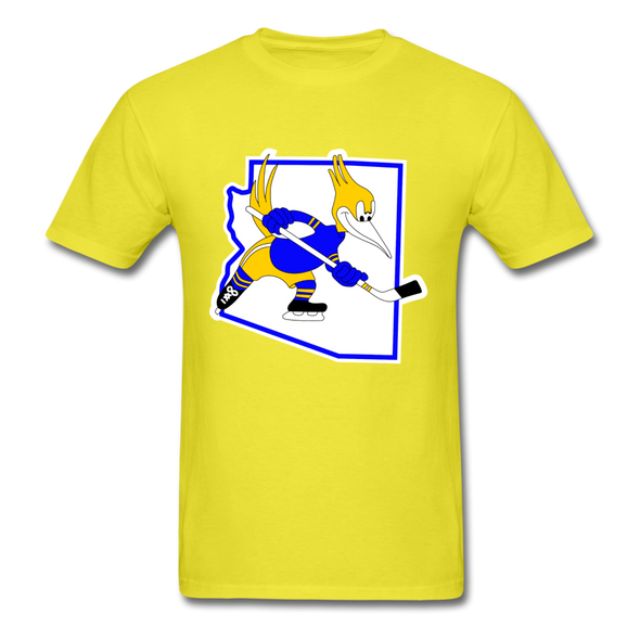 Phoenix Roadrunners Arizona Logo T-Shirt (CHL) - yellow