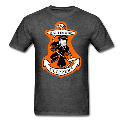 Baltimore Clippers Logo T-Shirt (SHL) - heather black