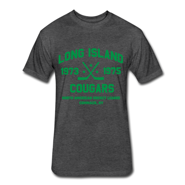 Long Island Cougars Dated T-Shirt (NAHL) - heather black