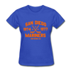 San Diego Mariners Dated Women's T-Shirt (WHA) - royal blue