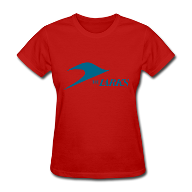 Jersey Larks Logo Women's T-Shirt (EHL) - red