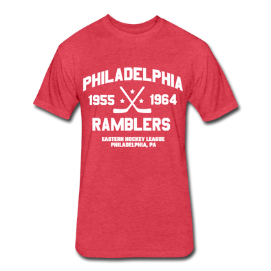 Philadelphia Ramblers Dated T-Shirt (EHL) - heather red