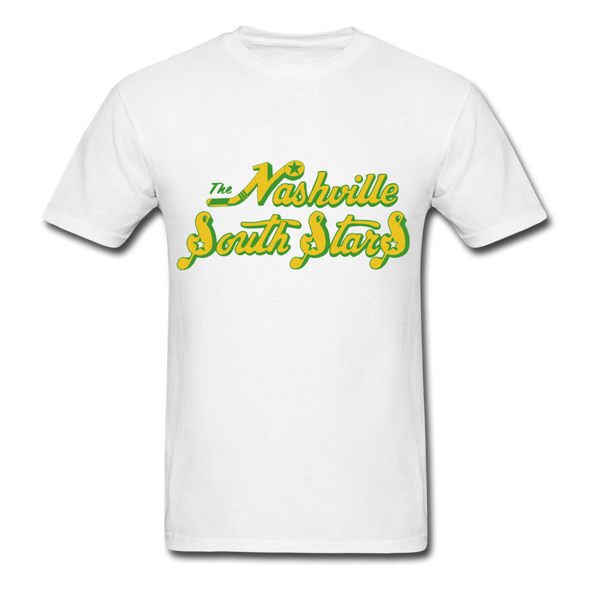 Nashville South Stars Text Logo T-Shirt (CHL) - white