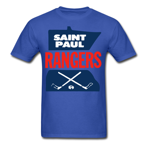 Saint Paul Rangers Logo T-Shirt (CHL) - royal blue