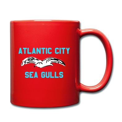 Atlantic City Sea Gulls Mug (EHL) - red