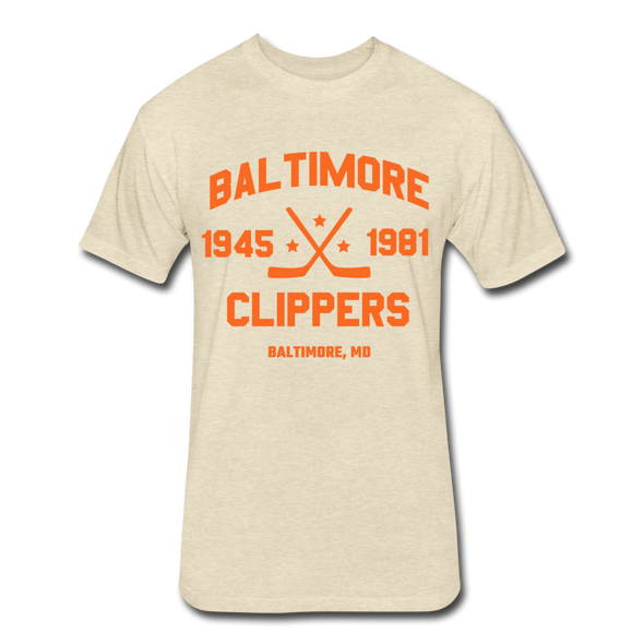 Baltimore Clippers Dated T-Shirt (SHL) - heather cream