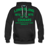 Long Island Cougars Double Sided Premium Hoodie (NAHL) - black