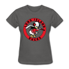 Long Island Ducks 1960s Logo Women's T-Shirt (EHL) - charcoal