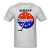 Albany Choppers Logo T-Shirt (IHL) - heather gray