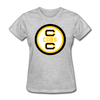 Cape Cod Cubs Logo Women's T-Shirt (EHL & NAHL) - heather gray