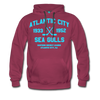 Atlantic City Sea Gulls Premium Double Sided Hoodie (EHL) - burgundy