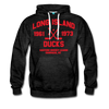 Long Island Ducks Double Sided Premium Hoodie (EHL) - charcoal gray
