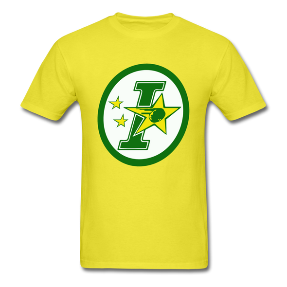 Iowa Stars Logo T-Shirt (CHL) - yellow