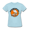 Denver Spurs Logo Women's T-Shirt (CHL) - powder blue