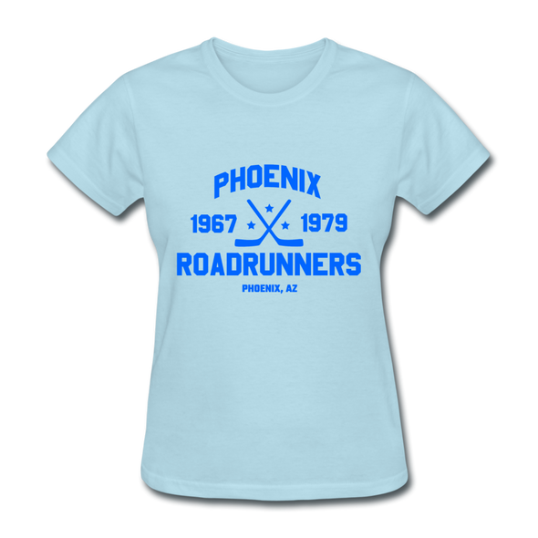 Phoenix Roadrunners Dated Women's T-Shirt - powder blue