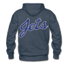 Johnstown Jets Double Sided Premium Hoodie (NAHL) - heather denim