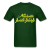 Nashville South Stars Text Logo T-Shirt (CHL) - forest green