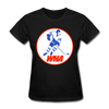 World Hockey Association Logo Women's T-Shirt (WHA) - black