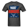 Saint Paul Rangers Logo T-Shirt (CHL) - heather black