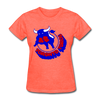 Toronto Toros Logo Women's T-Shirt (WHA) - heather coral