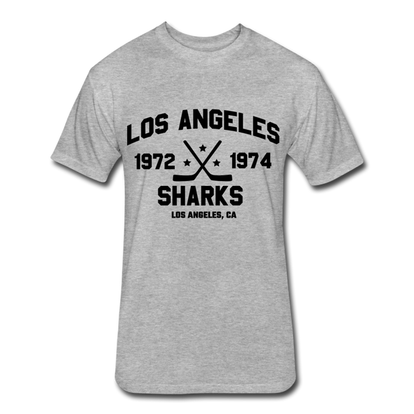 Los Angeles Sharks Dated T-Shirt (WHA) - heather gray