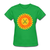 Suncoast Suns Logo Women's T-Shirt (EHL & SHL) - bright green