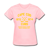 Cape Cod Cubs Dated Women's T-Shirt (EHL & NAHL) - pink
