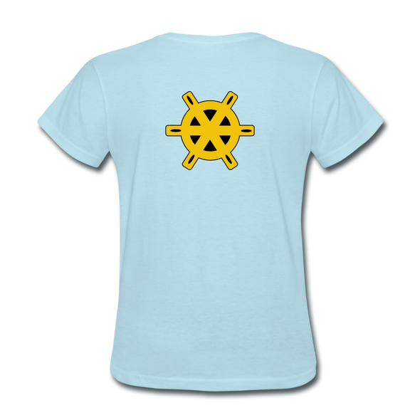 Charlotte Clippers Logo Women's T-Shirt (EHL) - powder blue