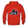 Los Angeles Sharks Double Sided Premium Hoodie (WHA) - red