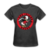 Long Island Ducks 1960s Logo Women's T-Shirt (EHL) - heather black