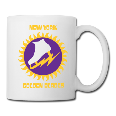 New York Golden Blades Mug (WHA) - white