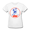 World Hockey Association Logo Women's T-Shirt (WHA) - white