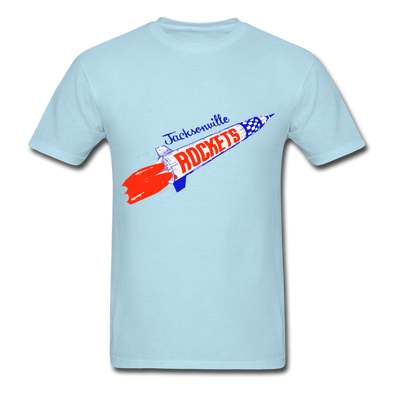 Jacksonville Rockets Logo T-Shirt (EHL) - powder blue