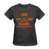 Erie Blades Dated Women's T-Shirt (NAHL) - heather black