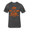 Erie Blades Dated T-Shirt (NAHL) - heather black