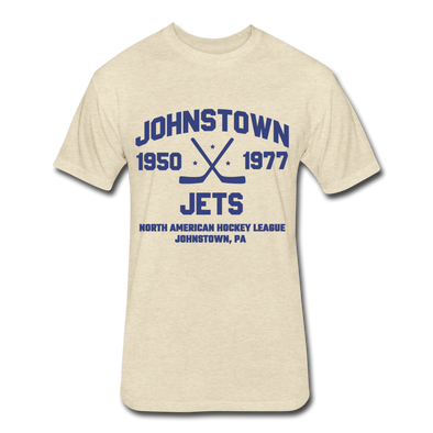 Johnstown Jets Dated T-Shirt (NAHL) - heather cream