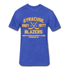 Syracuse Blazers Dated T-Shirt (NAHL) - heather royal