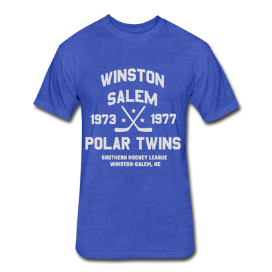 Winston-Salem Polar Twins Dated T-Shirt (SHL) - heather royal