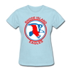Rhode Island Eagles Logo Women's T-Shirt (EHL) - powder blue