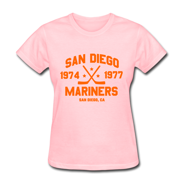 San Diego Mariners Dated Women's T-Shirt (WHA) - pink