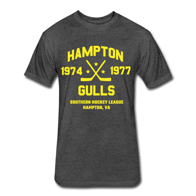 Hampton Gulls Dated T-Shirt (SHL) - heather black