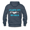 Atlantic City Sea Gulls Premium Double Sided Hoodie (EHL) - heather denim