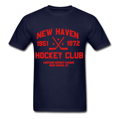 New Haven Hockey Club Dated T-Shirt (EHL) - navy