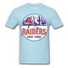 New York Raiders Logo T-Shirt (WHA) - powder blue