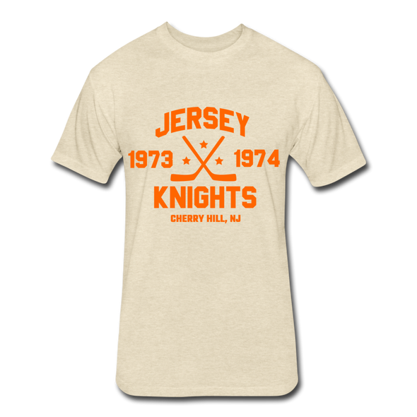 Jersey Knights Dated T-Shirt (WHA) - heather cream