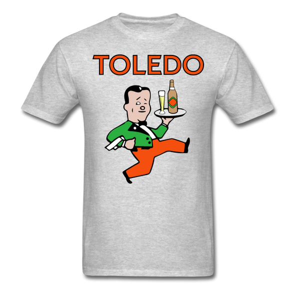 Toledo Buckeyes Logo T-Shirt (EHL) - heather gray