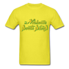 Nashville South Stars Text Logo T-Shirt (CHL) - yellow