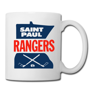 Saint Paul Rangers Mug (CHL) - white