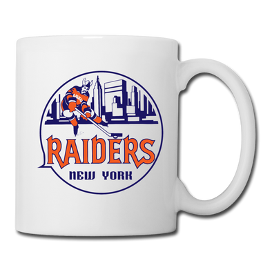 New York Raiders Logo Mug (WHA) - white