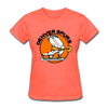 Denver Spurs Logo Women's T-Shirt (CHL) - heather coral